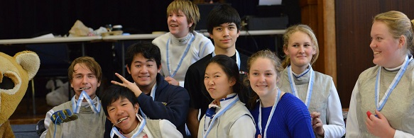 Congratulations to fencers who did so well in the individual secondary school circuit!